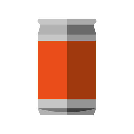 tonic: Soda and drink  concept represented by can icon. isolated and flat illustration
