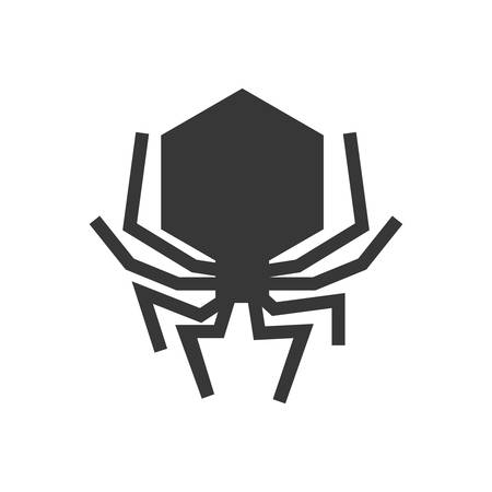 parasitic infestation: Insect concept represented by bug icon. Isolated and flat illustration