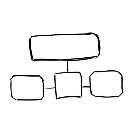 conceptual map: infograf�a concepto representado por el icono de mapa conceptual. ilustraci�n y dibujo