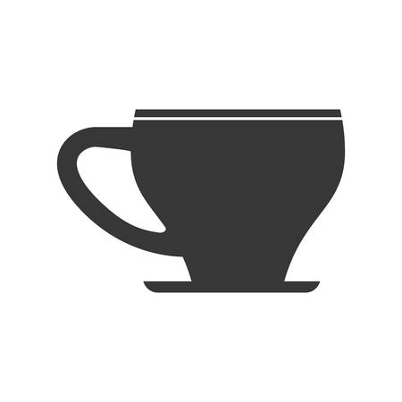 digitally concepts: Drink concept represented by coffee mug icon. Isolated and flat illustration Illustration