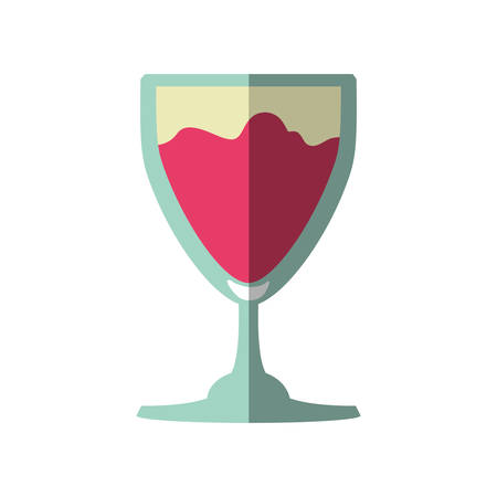 sorbet: Dessert and sweet concept represented by cup of ice cream icon. Isolated and flat illustration