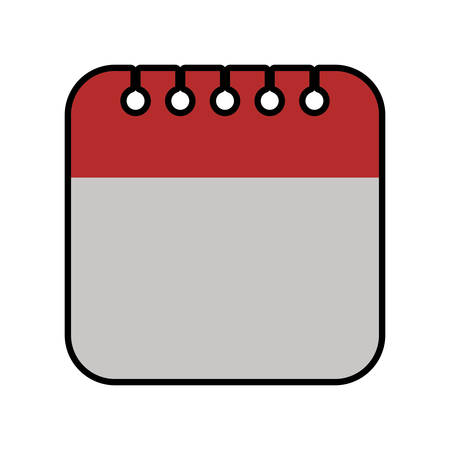 day planner: calendar planner day time agend icon.  Isolated and flat illustration. Vector graphic Illustration