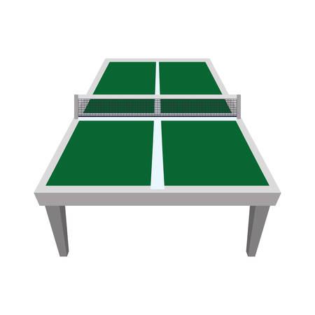 ping pong: mesa de ping pong icono del deporte pasatiempo. ilustraci�n y plana. gr�fico vectorial