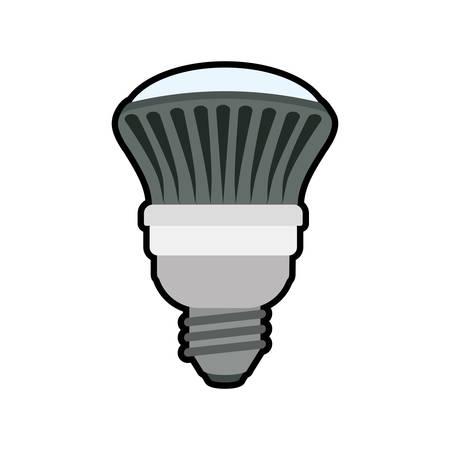 illumination: light bulb illumination energy power icon. Isolated and flat illustration. Vector graphic