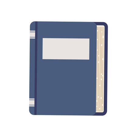 learing: book traditional reading learing icon. Isolated and flat illustration. Vector graphic Illustration