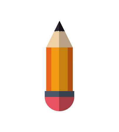 secretarial: pencil instrument write draw icon. Isolated and flat illustration. Vector graphic Illustration