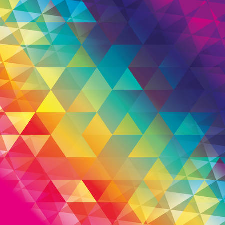 polygonal wallpaper geometric shape icon. Colorfull and background illustration. Vector graphic