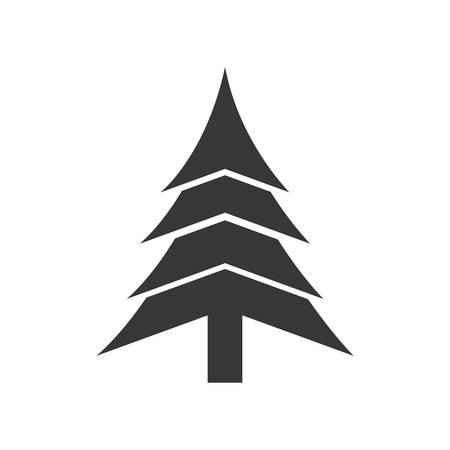 pine tree merry christmas celebration icon isolated and flat rh 123rf com pine tree branch graphic pine tree graphic png