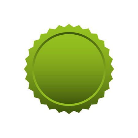 stamp seal: seal stamp green tag banner icon. Isolated and flat illustration. Vector graphic Illustration