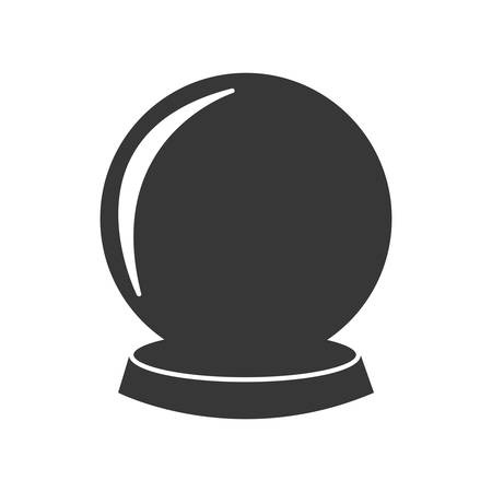 mistery: sphere future magic mistery icon. Isolated and flat illustration. Vector graphic