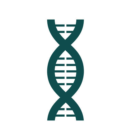 dna laboratory: dna laboratory science research icon. Isolated and flat illustration. Vector graphic