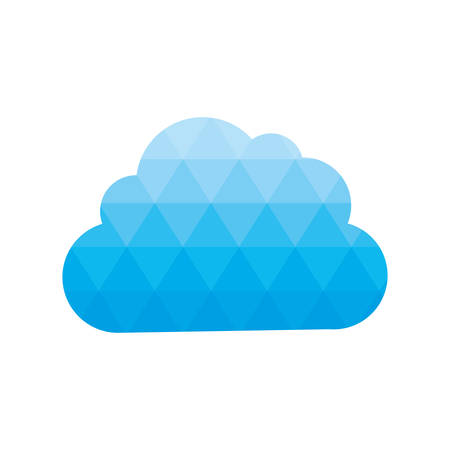 day forecast: cloud weather sky season icon. Isolated and flat illustration. Vector graphic