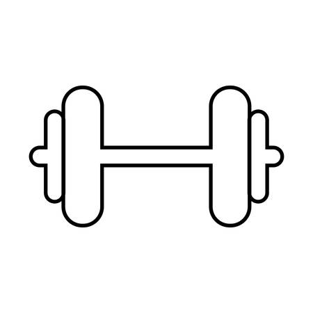 heavy metal: weight metal heavy bodybuilding icon. Isolated and flat illustration. Vector graphic Illustration