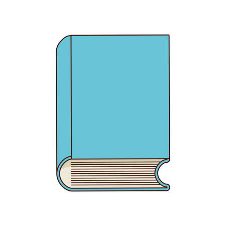 school class: book class school instrument icon. Isolated and flat illustration Illustration