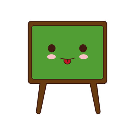 school class: board class school instrument icon. Isolated and flat illustration