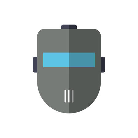 seguridad industrial: mask industrial security safety icon. Isolated and flat illustration