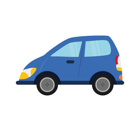 commerce and industry: car auto vehicle transportation icon. Isolated and flat illustration.