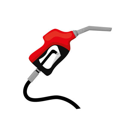 dispenser oil industry petroleum gasoline icon. Isolated and flat illustration. Vector graphic Illustration