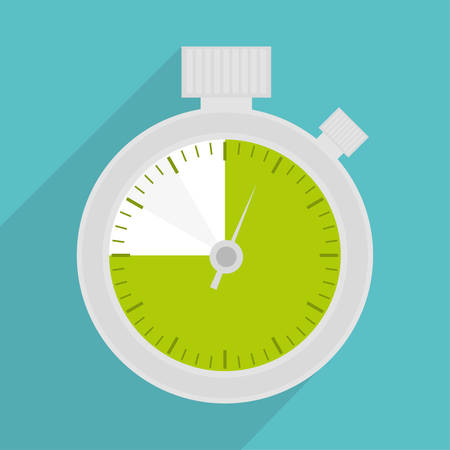 chronometer: Chronometer icon. Time tool and instrument theme. Colorful design. Vector illustration