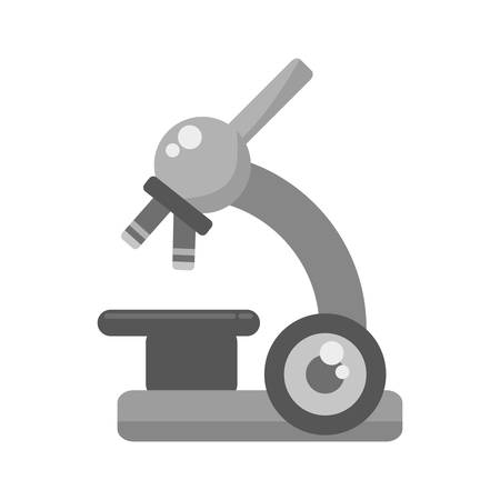 microscope device isolated icon vector illustration design