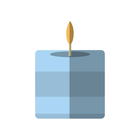 aromatherapy candle: aromatherapy candle spa isolated icon vector illustration design