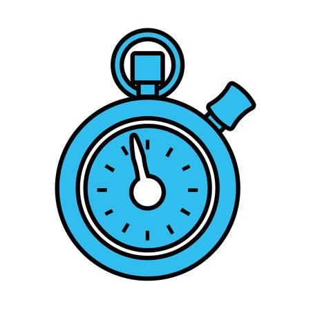chronometer: chronometer counter isolated icon vector illustration design