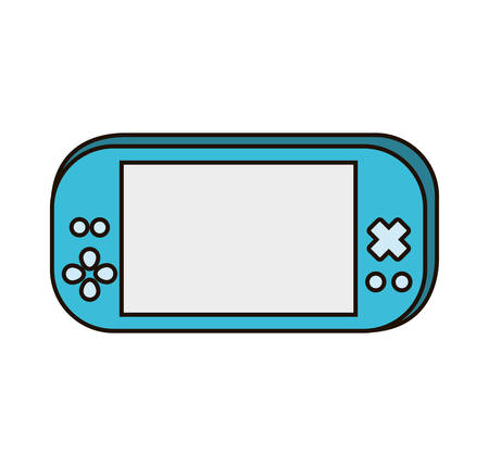 psp: video game portable device vector illustration design Illustration
