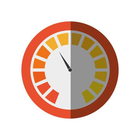 pressure gauge: pressure gauge device icon vector illustration design