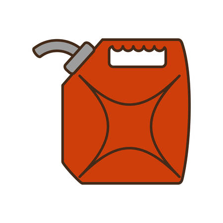 oil galon isolated icon vector illustration design Illustration