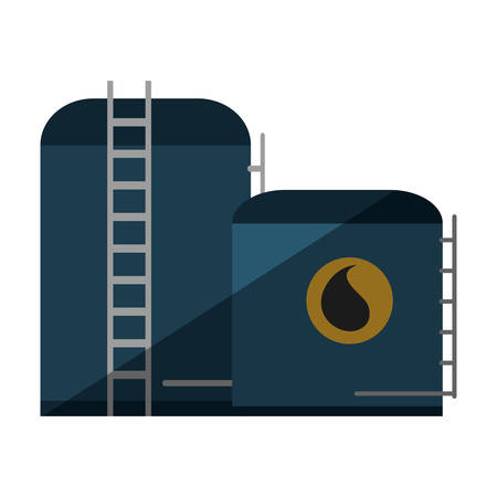 exploration: plant oil exploration industry vector illustration design Illustration