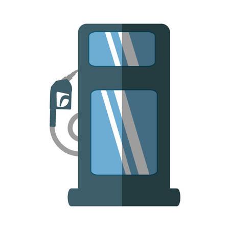 refuel: oil service station pump isolated icon vector illustration design Illustration