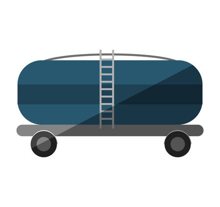 tanker: oil tanker truck transport vector illustration design Illustration