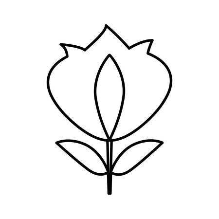 lys: fleur de lys isolated icon vector illustration design