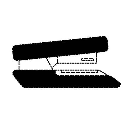 office supply: stapler office supply icon vector illustration design