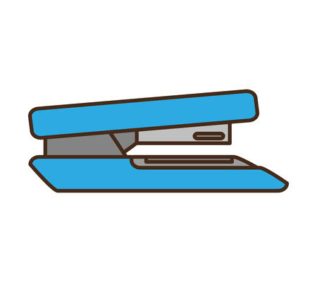 stapler office supply icon vector illustration design
