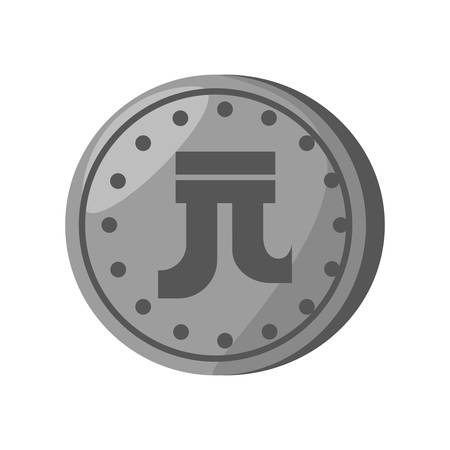yuan: yuan coin china isolated icon vector illustration design
