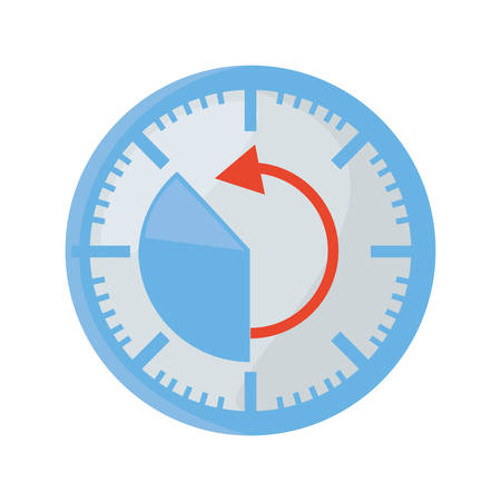 dash: pressure gauge isolated icon vector illustration design Illustration