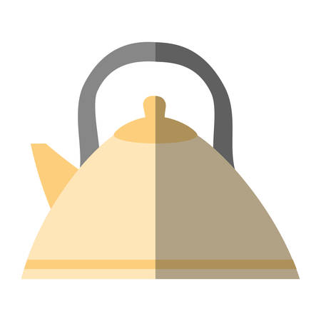 tea kettle beverage isolated icon vector illustration design