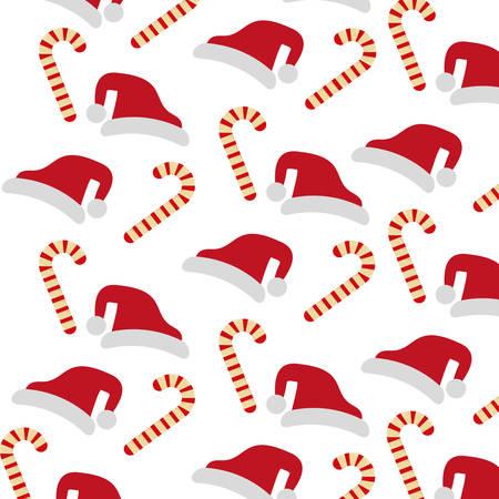 candycane: merry christmas sweet cane decoration vector illustration design