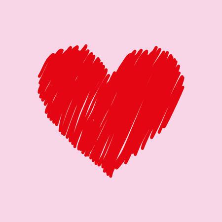 Heart love icon vector illustration graphic design