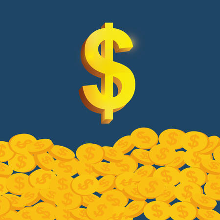 salaries: money saving and investment icon vector illustration graphic design