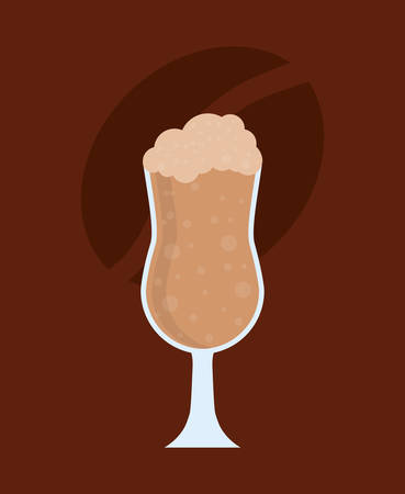 delicous milkshake cup icon vector illustration graphic design