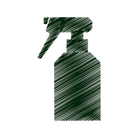 sprinkler bottle isolated icon vector illustration design Illustration