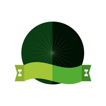 ful: badge blank space design vector illustration Illustration