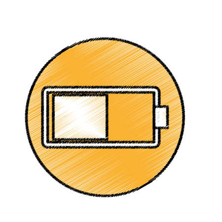 recharge: Battery full recharge icon vector illustration graphic design