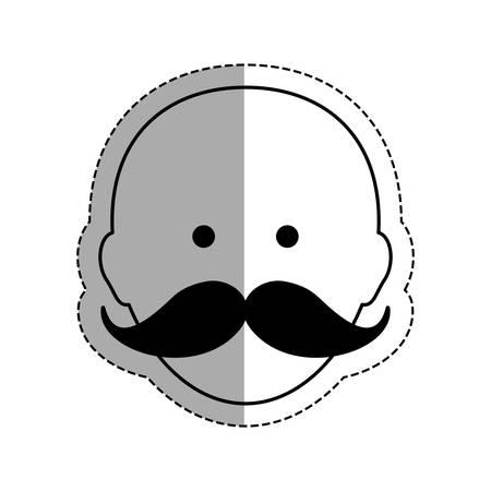 strongman: Strongman circus cartoon icon vector illustration graphic design Illustration