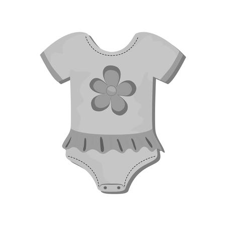 Baby suit clothes icon vector illustration graphic design Illustration