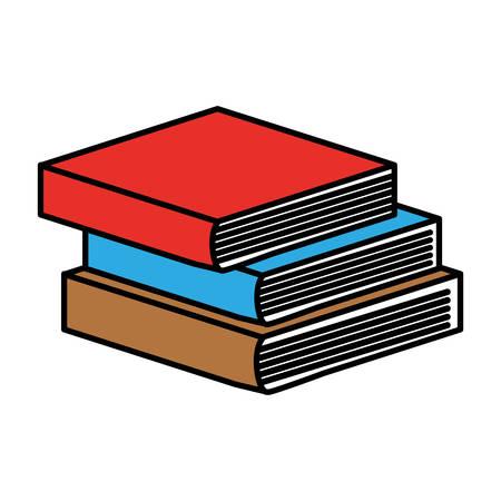 electronic publishing: book pile icon image vector illustration design Illustration