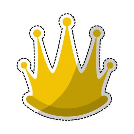 royal crown icon image vector illustration design Illustration