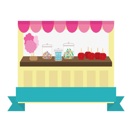 candy store: candy store icon image vector illustration design Illustration